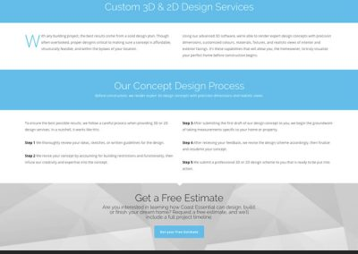 Services - 3D Home Design page