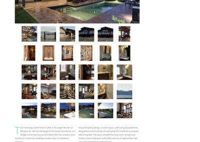 Example portfolio page