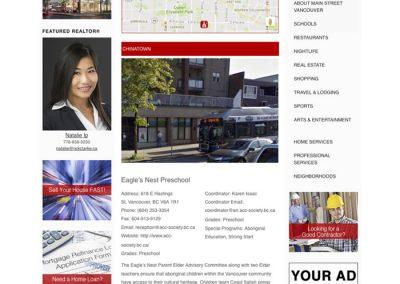 Example Schools directory page